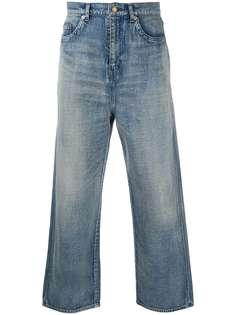 Saint Laurent широкие джинсы