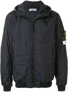 Stone Island легкая куртка с капюшоном