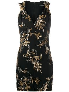 Versace платье с пайетками