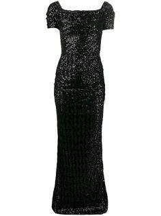 Dolce & Gabbana вечернее платье с пайетками