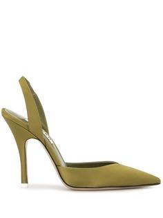 The Attico туфли с заостренным носком и ремешком на пятке