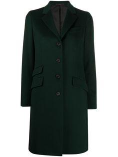 Paul Smith однобортное пальто с карманами