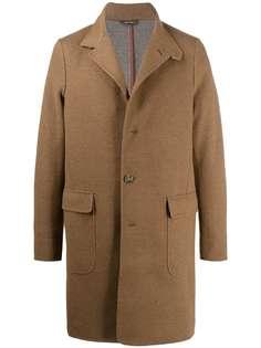 Loro Piana кашемировое однобортное пальто