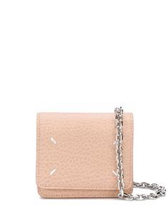 Maison Margiela маленькая сумка через плечо с контрастной строчкой