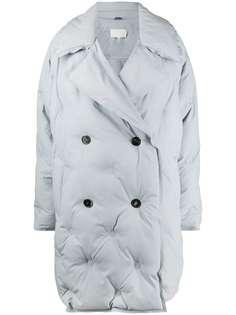 Maison Margiela стеганое двубортное пальто