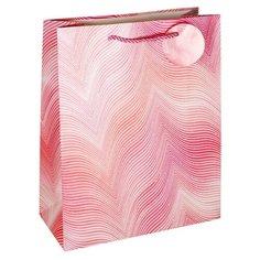 Пакет подарочный Белоснежка Розовая дымка 26 x 32 x 10 см розовый