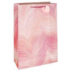 Пакет подарочный Белоснежка Розовая дымка 30 x 42 x 12 см розовый