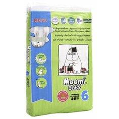 Muumi подгузники Baby 6 (12-24 кг) 36 шт.