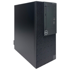 Настольный компьютер DELL Optiplex 3070 MT 3070-1892 Mini-Tower/Intel Core i5-9500/8 ГБ/256 ГБ SSD/Intel UHD Graphics 630/Linux черный