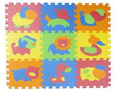 Развивающий коврик RemiLing Мягкий пол Зоопарк-2 29х29cm DA007N-Zoo62328