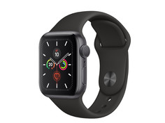 Умные часы APPLE Watch Series 5 40mm Space Grey Aluminium with Black Sport Band MWV82RU/A Выгодный набор + серт. 200Р!!!