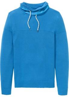 Пуловер с воротником-шалью Bonprix