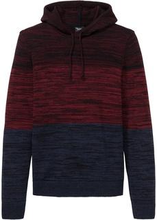 Пуловер с капюшоном Bonprix