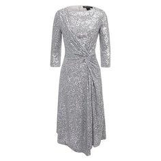 Платье с пайетками St. John