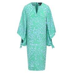 Шелковое платье St. John