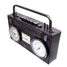 Часы-термометр настольные Русские подарки ретро магнит 36х10х21см