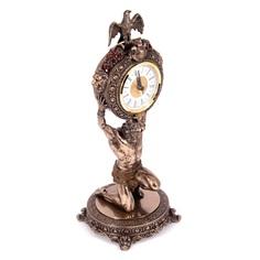 Часы настольные Русские подарки Атлант 16х16х39см