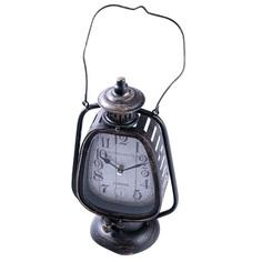 Часы настольные Русские подарки фонарь 17х12х28см