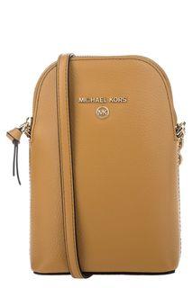 Маленькая сумка из зерненой кожи Jet Set Charm Michael Michael Kors