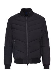 Демисезонная куртка-бомбер черного цвета Antony Morato