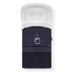 Конверт зимний меховой Nuovita Alaska Bianco Nero, Черный