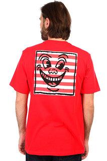 Футболка Element KH Smile, fire red, M INT