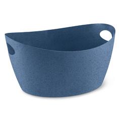 Контейнер для хранения Bottichelli Organic, L, 15 л, синий Koziol