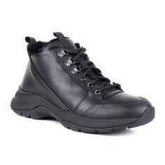 Ботинки мужские Baldinini 047433ADAIN000000XXX черные 41 RU