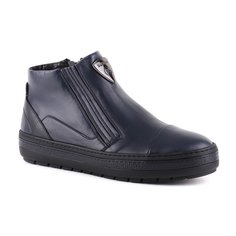 Ботинки мужские Baldinini O1217 синие 43.5 RU
