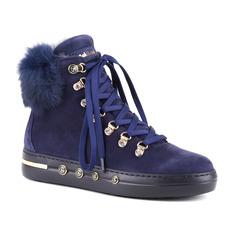 Ботинки женские Baldinini 948026AKILA синие 38 RU