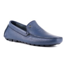 Мокасины мужские Baldinini 997437YDAIN242424XXX синие 40 RU