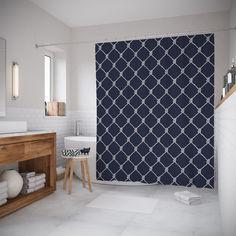 Шторы для ванной JoyArty «Деревенский забор» 180x200