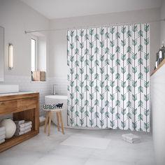 Штора для ванной JoyArty «Вертикальные стрелы» 180x200