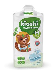Подгузники детские KIOSHI, M (6-11 кг) 54 шт