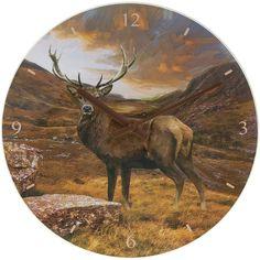 Часы настенные Олень D 30см Leonardo Collection