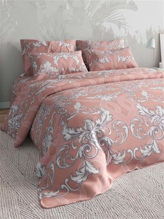 Постельное белье Текстильная лавка Bosfor Цвет: Коралловый семейный