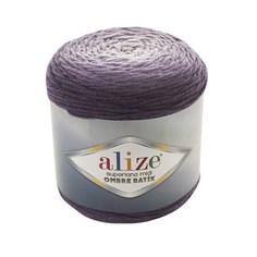 "Пряжа Alize ""Superlana Midi Ombre Batik"", цвет: 7270, 510 м, 300 грамм (2 мотка) ( 2)"