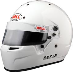 Шлем для картинга RS7-K, Snell K2015, белый, р-р MED (58-59) BELL 1310032