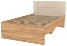 Кровать Hoff Модекс-2 Дуб золотой/Карамель