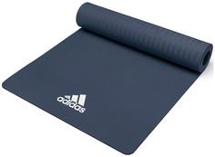 Adidas Тренировочный коврик (мат) для йоги Adidas голубой
