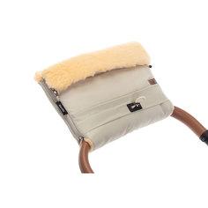 Муфта меховая для коляски Nuovita Alaska Pesco Crema/Кремовый