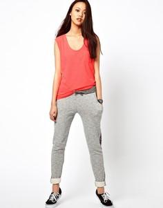 Спортивные брюки со вставками River Island-Серый