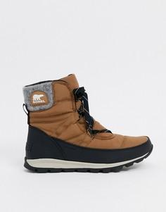 Светло-коричневые зимние ботинки Sorel-Светло-коричневый