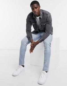 Черная джинсовая рубашка в ковбойском стиле Levis-Черный Levis®