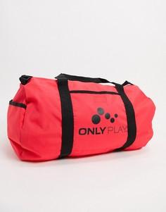 Спортивная сумка оранжевого цвета Only Play-Оранжевый
