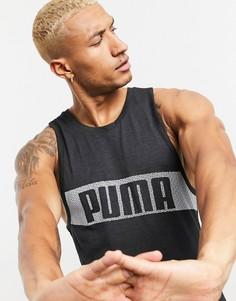 Черная майка Puma Training-Черный
