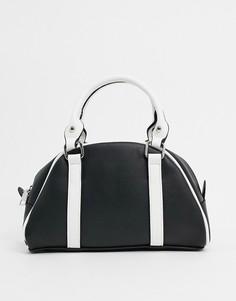 Черная сумка My Accessories London-Черный