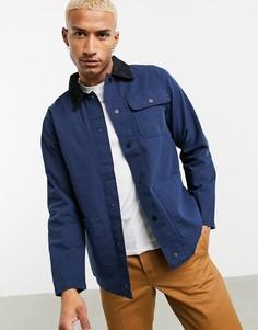 Темно-синяя куртка Vans-Темно-синий