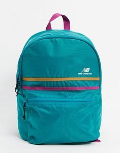 Сине-зеленый рюкзак New Balance