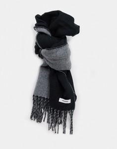 Черный шарф Jack & Jones
